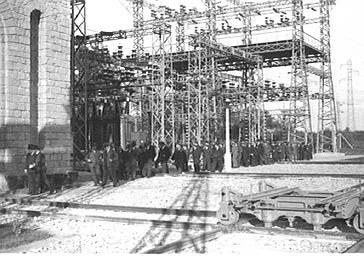 Inauguration d'une construction métallique