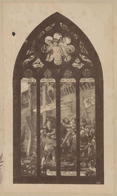 Comment à Rouen Jehanne la Pucelle fut tenue
