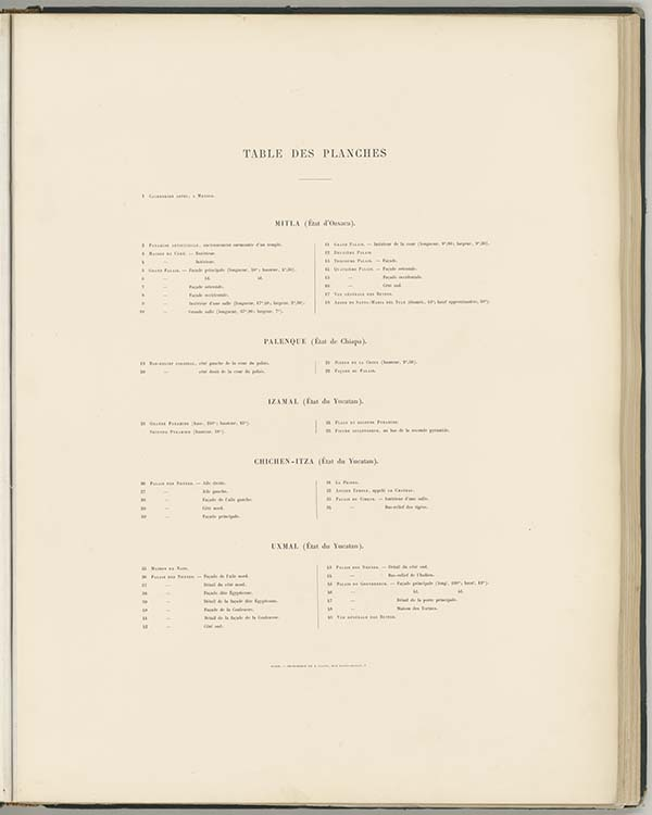 Table des illustrations