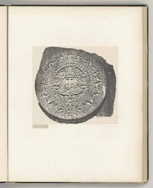 Calendrier aztèque à Mexico