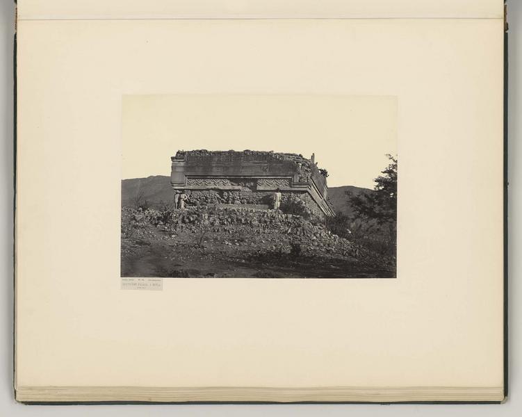 Quatrième palais à Mitla. Côté sud