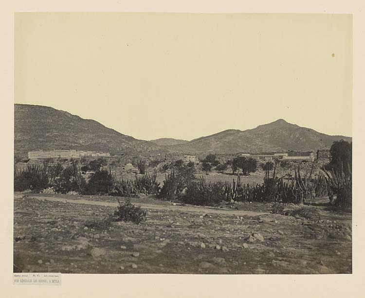 Vue générale des ruines, à Mitla