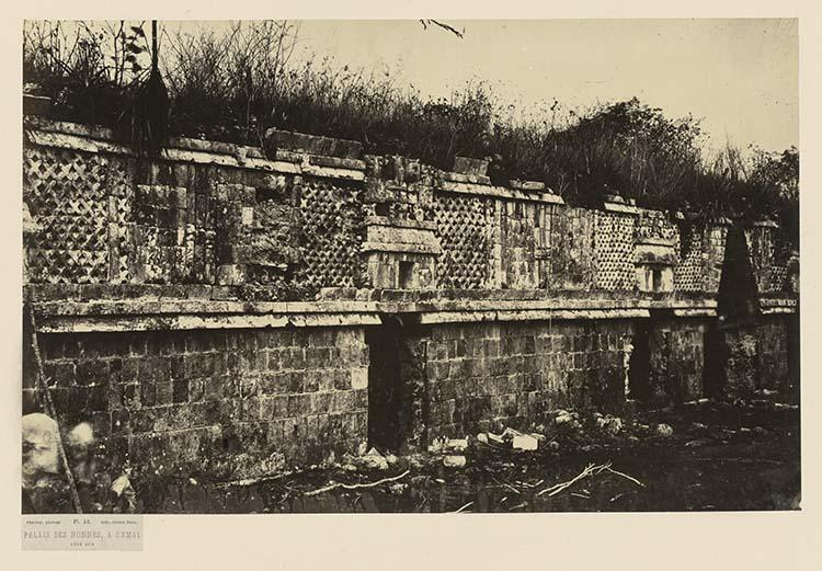 Palais des Nonnes, à Uxmal. Côté sud