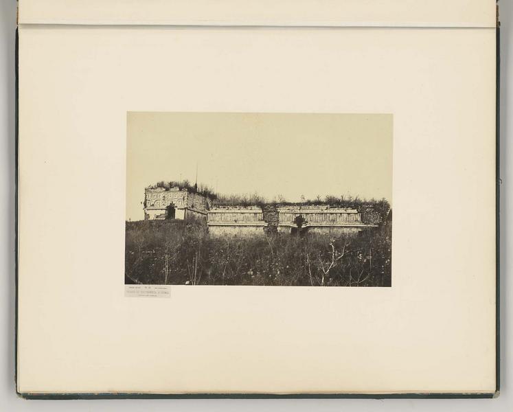 Palais du Gouverneur à Uxmal. Maison des Tortues