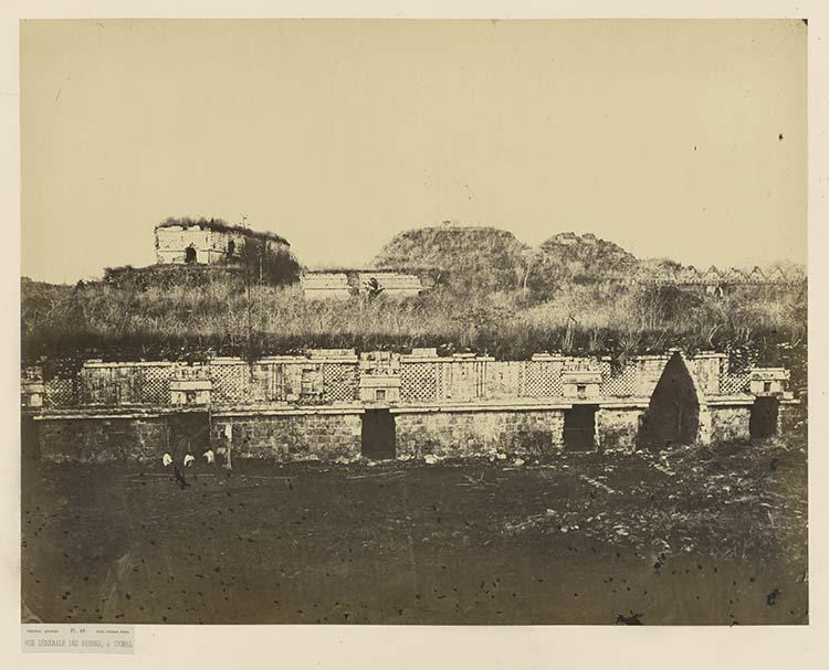 Vue générale des ruines, à Uxmal