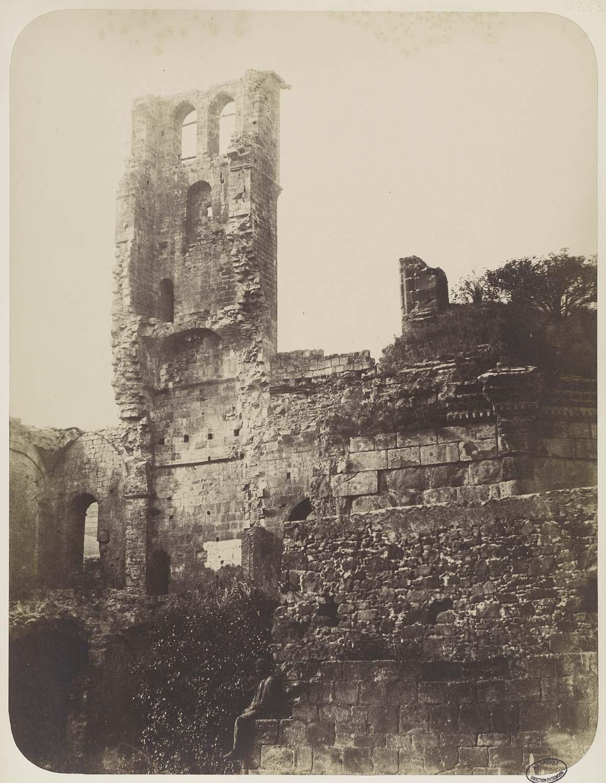 Vue des ruines
