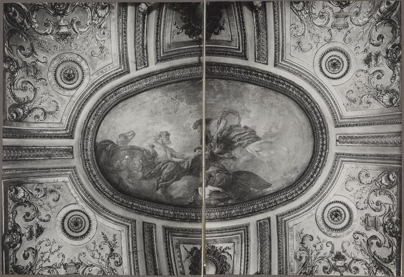 Plafond de la salle à manger par Lagrenée