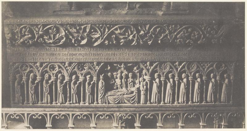 Tombeau de l'évêque Guillaume Radulphe