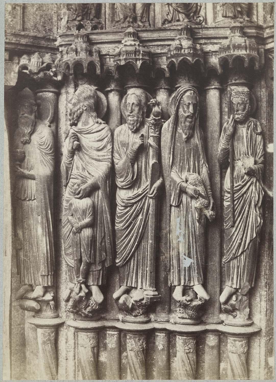 Façade nord : portail central