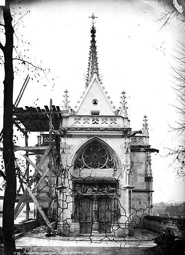 Chapelle Saint-Hubert : façade d'entrée