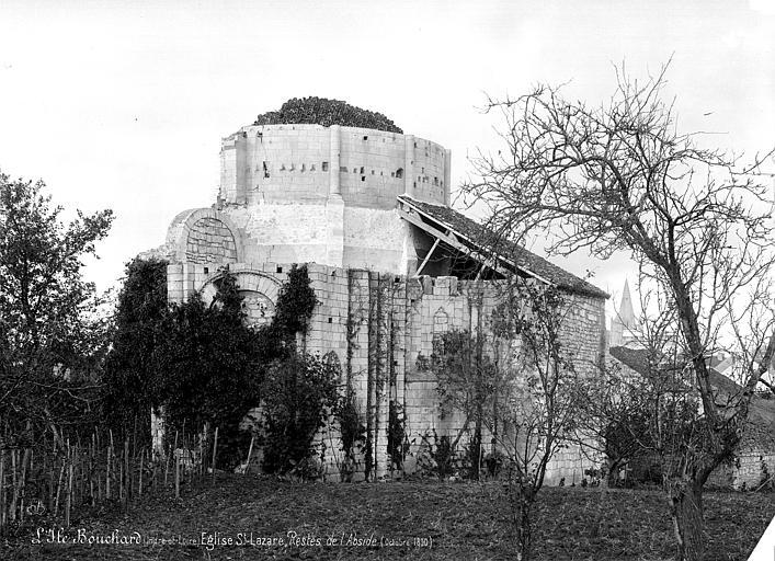 Eglise (ruines) : Abside