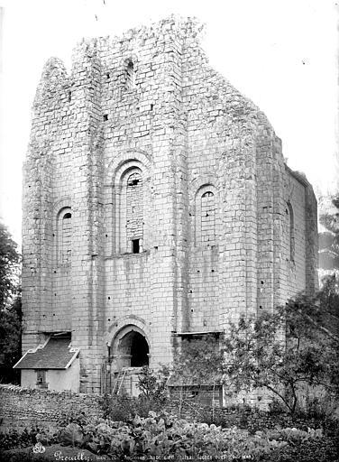 Ancienne chapelle : façade d'entrée
