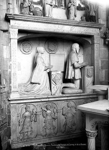 Monument funéraire de François de Lannoy, et de sa femme, Marie de Hangest
