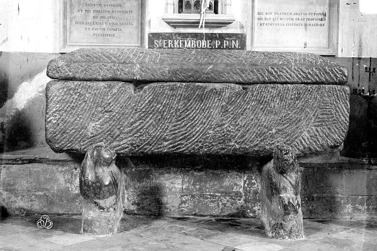 Sarcophage de saint Erkembode