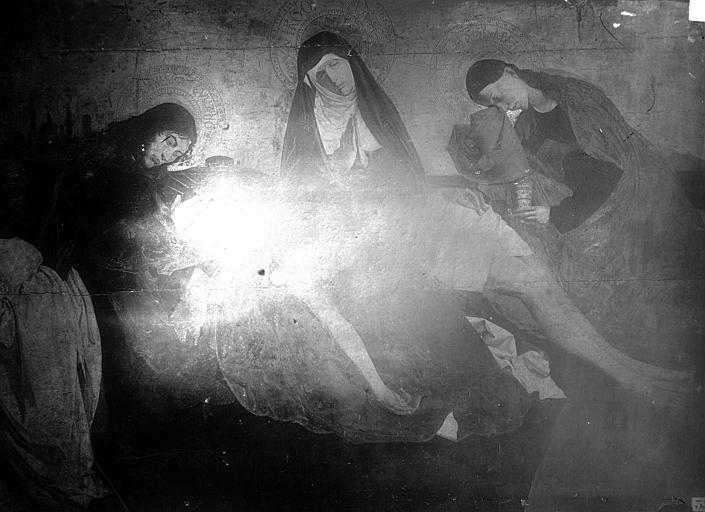 Tableau : la Vierge de Pitié