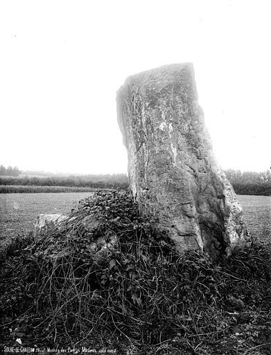 Menhirs dits Pierre Martine (deux)
