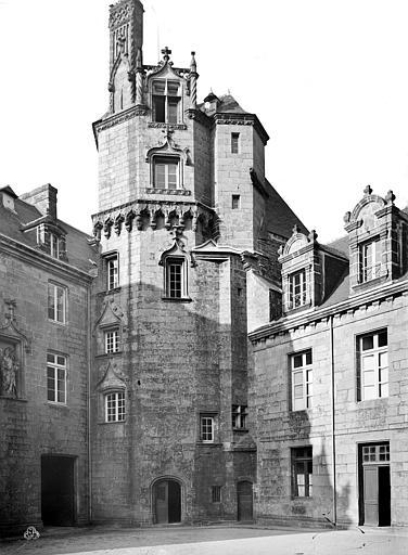 Ancien évêché, actuellement musée départemental breton