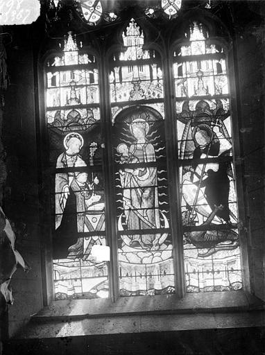 Vitrail : Légende de saint Armel