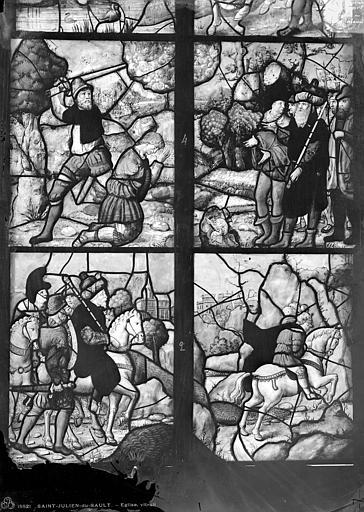 Verrière de saint Julien de Brioude