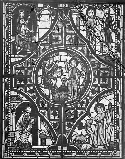 Vitrail de sainte Marguerite