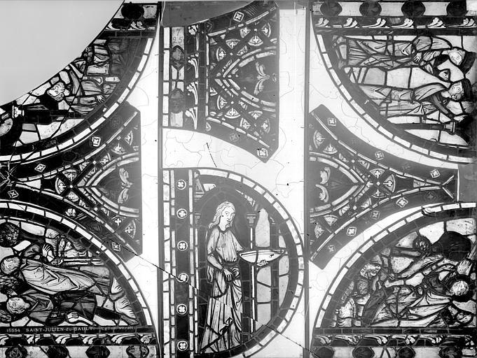 Verrière de saint Pierre et de saint Paul et de saint Blaise