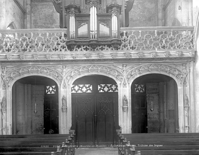 Tribune du buffet d'orgue