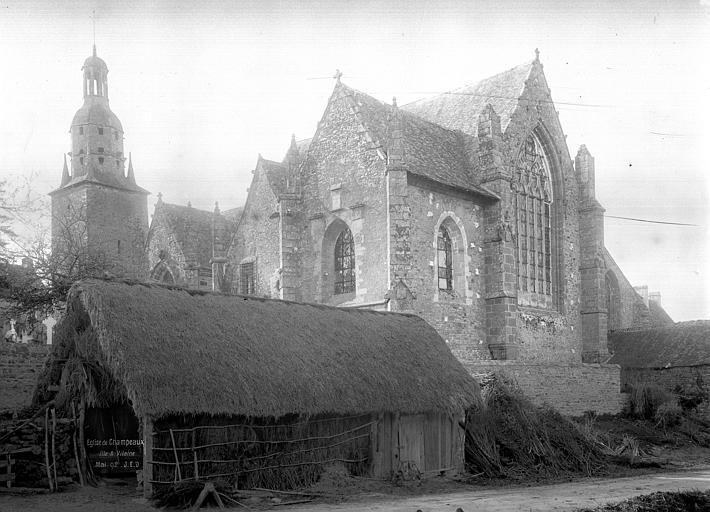 Ancienne collégiale, actuellement église Sainte-Marie-Madeleine, place de la Collégiale (Champeaux)