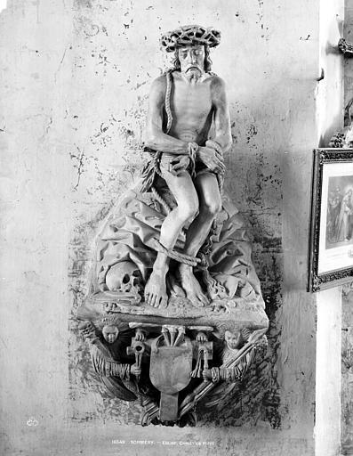 Statue du Christ de pitié