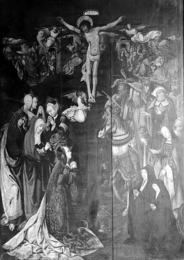 Tableau : Le Crucifiement