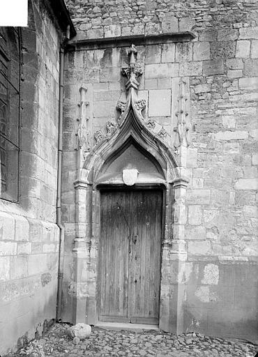 Portail de la chapelle sud