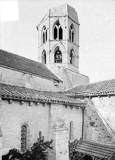 Croisée du transept et clocher