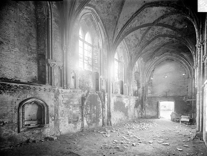 Eglise : Vue intérieure