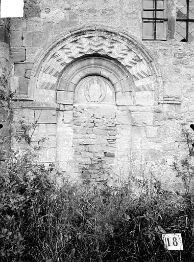 Petit portail muré