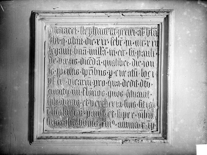 Inscription obituaire. Inscription obituaire