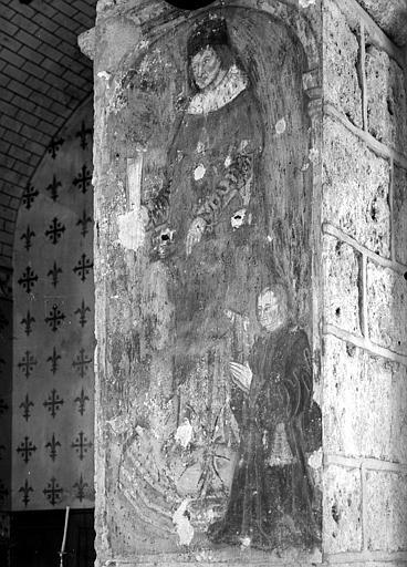 Peinture murale sur un pilier