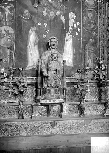 Statuette : La Vierge à l'Enfant