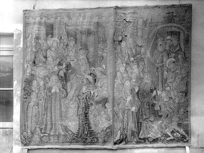 Tapisserie : Pilate et Barrabas