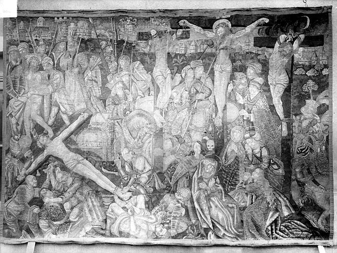 Tapisserie : Crucifixion