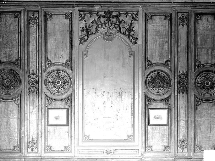 Salle du Conseil : Boiseries