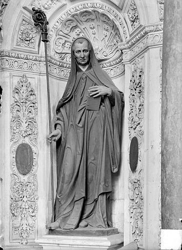 Statue : saint Guenaël