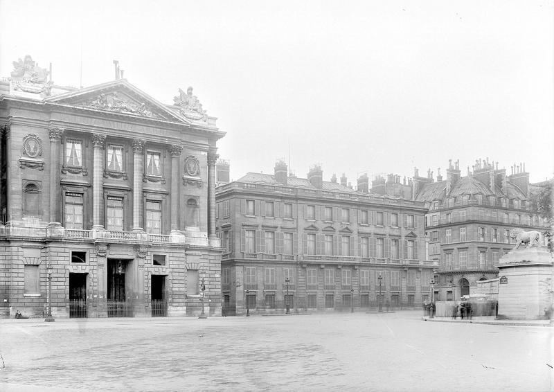 Hôtel Saint-Florentin (ancien) ; Hôtel de Talleyrand ; Consulat des Etats-Unis