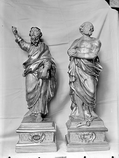 Statue-reliquaire de saint Pierre