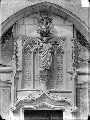 Statue : Christ enseignant, ou Salvator mundi