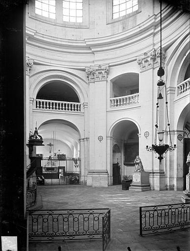 Chapelle Sainte-Anne : Vue intérieure de la rotonde