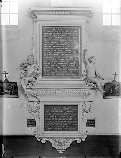 Chapelle Sainte-Anne : Monument funéraire de Louis Odebert