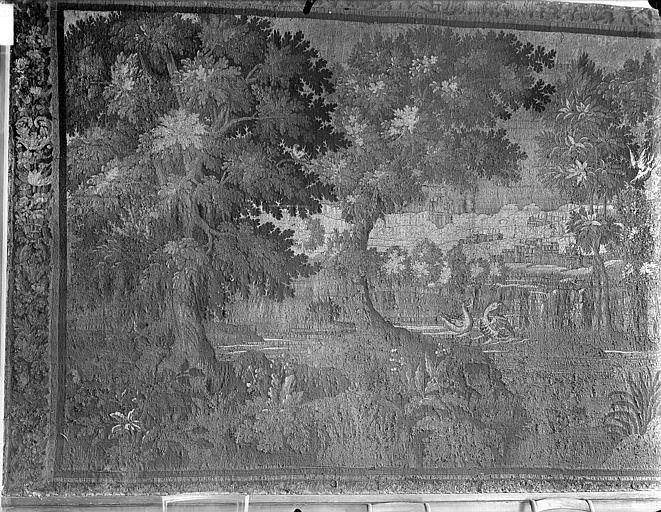 Grande tapisserie : Verdure et fabrique