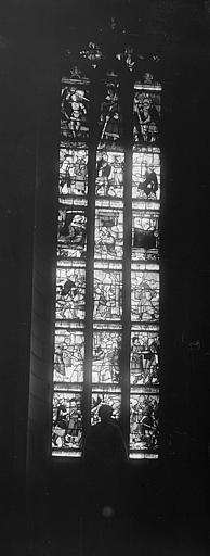 Vitrail : Vie de saint Vorle