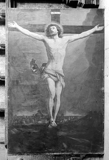 Tableau : Le Christ en croix (vue d'ensemble)