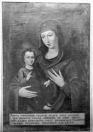 Tableau : La Vierge à l'Enfant