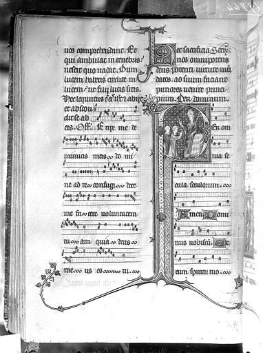 Manuscrit : missel d'Etienne Becquard, archevêque de Sens